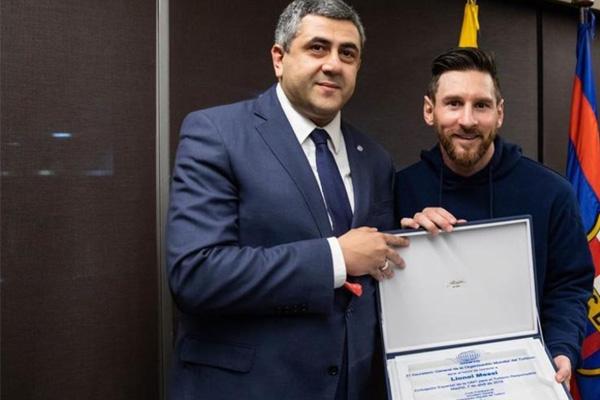 ARGENTINA – Lionel Messi, embajador de Turismo Responsable de la OMT